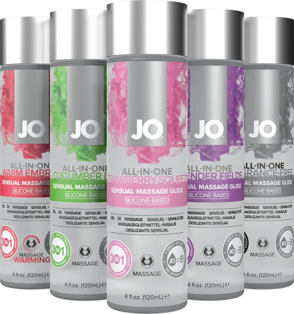 Ml Senual Glide Jo Lavendel 120 System All-in One Massage-25088