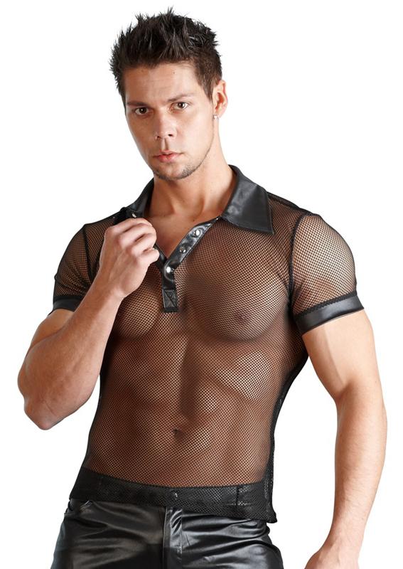 Voor Wetlook Mannen Shirt-23843
