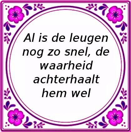 Zo De Al Nog Is Snel Leugen-21499