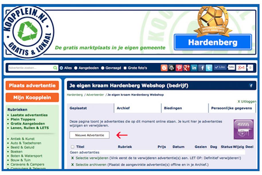Gratis Verkoopplein Adverteren Op Is-86935
