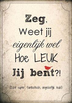 Lekker Lief Hou Van Leuk En-86708