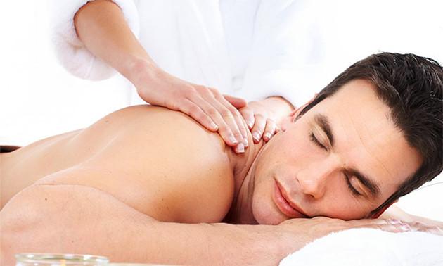 Of Deel Turkse Geeft Massage Masseur Algehele Een-63236